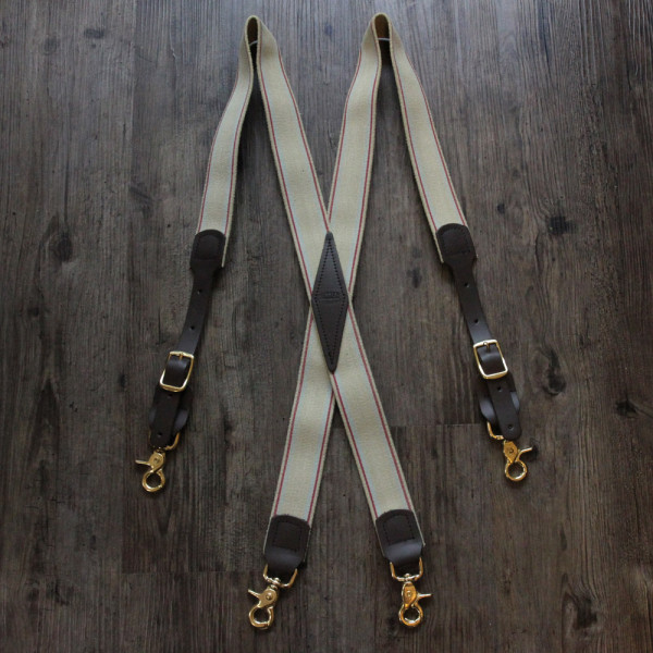 X-Back Snap Suspenders
